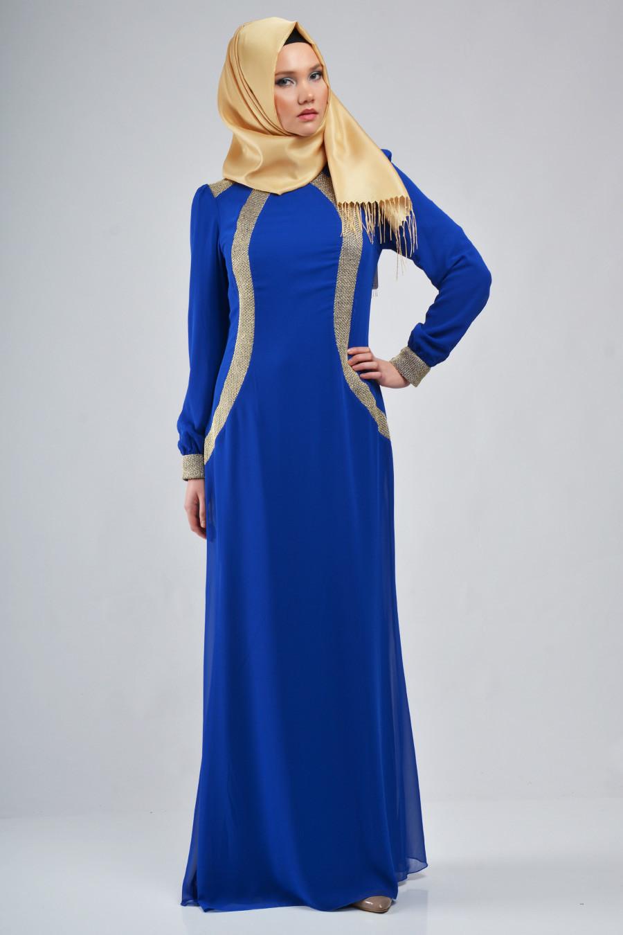 ruyada mavi elbise gormek
